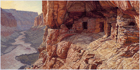 Nankoweap Granaries, Grand Canyon National Park